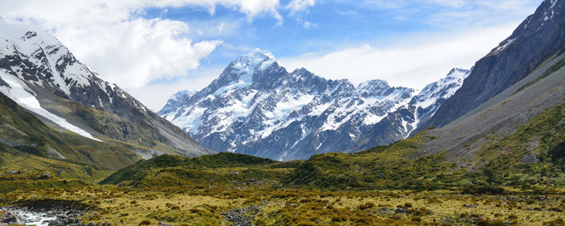 Mount Cook / Aoraki - Introducing New Zealand